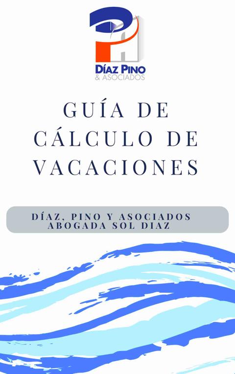 guía cálculo de vacaciones